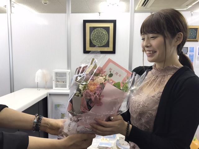 トリン占いスクール大阪心斎橋の一周年記念